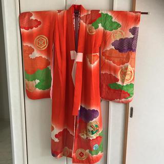 着物 正絹 十三詣り着物 女の子(和服/着物)