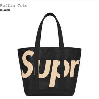 Supreme - 新品 Supreme Raffia Tote Bag Black