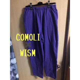 コモリ(COMOLI)のCOMOLI ✖️WISM スウェットパンツ(その他)