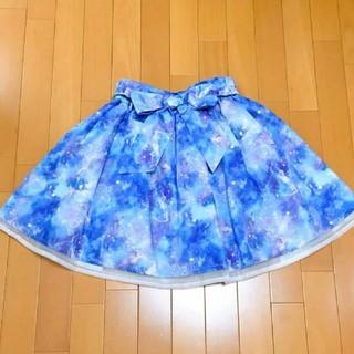 アンクルージュ(Ank Rouge)のAnk Rouge★夜空の星座柄スカート(ひざ丈スカート)