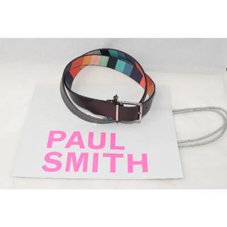 ポールスミス(Paul Smith)の新品☆Paul Smith リバーシブル アーティストストライプ ベルト②(ベルト)