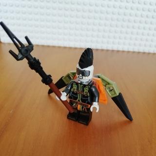 レゴ(Lego)のレゴ ニンジャゴー ミニフィグ モヒカンの悪者(キャラクターグッズ)