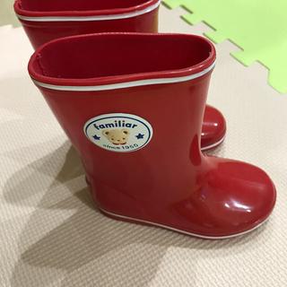 ファミリア(familiar)のファミリア  長靴 14センチ 美品(長靴/レインシューズ)
