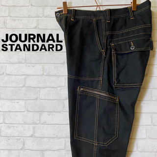 ジャーナルスタンダード(JOURNAL STANDARD)のジャーナルスタンダード ワークパンツ ペインター ブラック カーゴポケット/S(ワークパンツ/カーゴパンツ)