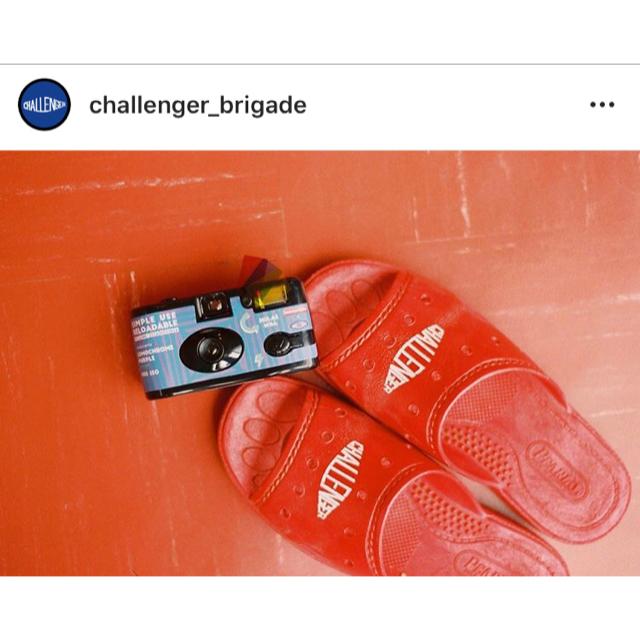 NEIGHBORHOOD(ネイバーフッド)のCHALLENGER TRADITIONAL SANDALS レッド サンダル メンズの靴/シューズ(サンダル)の商品写真