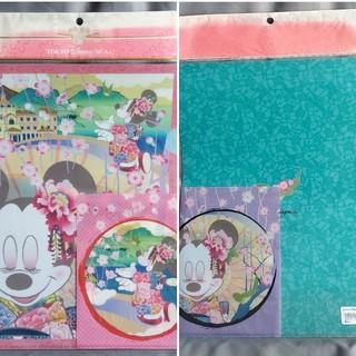 ミニーマウス(ミニーマウス)の☆値下げしました☆ディズニーシー ミニーマウス クリアファイルセット(クリアファイル)