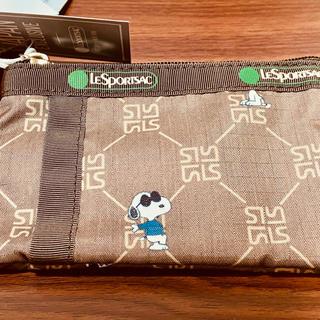 レスポートサック(LeSportsac)のID CARD CASE スヌーピーレモノグラム(パスケース/IDカードホルダー)