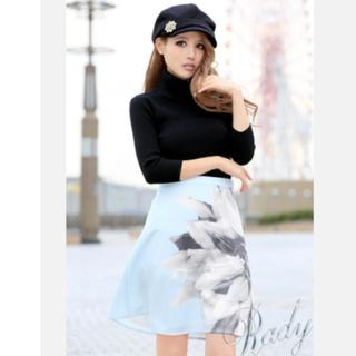レディー(Rady)のRady レディー グラマラスフラワースカート(ひざ丈スカート)