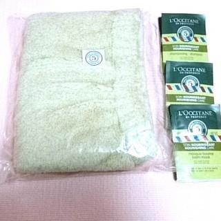 ロクシタン(L'OCCITANE)のロクシタン ファイブハーブス 試供品サシェセット& ヘアキャップ (ヘアケア)
