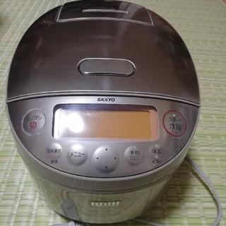サンヨー(SANYO)のジャー炊飯器 圧力IH ECJ-JX10E5(炊飯器)