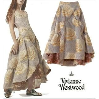 ヴィヴィアンウエストウッド(Vivienne Westwood)のVivienne Westwood frou frou skirt  インポート(ロングスカート)