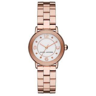 マークバイマークジェイコブス(MARC BY MARC JACOBS)の【電池有り】マークジェイコブス 腕時計 ピンクゴールド (腕時計)
