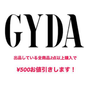 ジェイダ(GYDA)のGYDA(Tシャツ(半袖/袖なし))