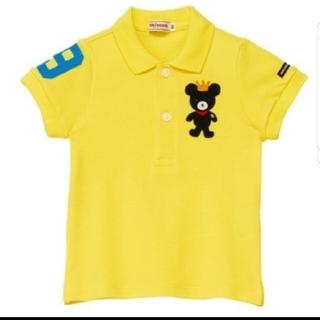 ミキハウス(mikihouse)のミキハウス キングくん半袖ポロシャツ120(Tシャツ/カットソー)