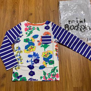 ボーデン(Boden)の新品 mini boden ハッチポッチTシャツ 4-5y 110 120 長袖(Tシャツ/カットソー)