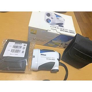 ニコン(Nikon)のNikon  COOL SHOT PRO ゴルフ 距離計 定価49500円(その他)
