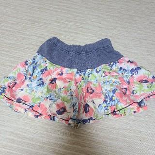 ANNA SUI mini - アナスイミニ 花柄スカート 100cm