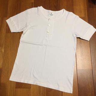 ドアーズ(DOORS / URBAN RESEARCH)のアーバンリサーチ  ドアーズ  DOORS  ヘンリーネックTシャツ サイズ38(Tシャツ/カットソー(半袖/袖なし))