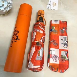 Hermes - Hermes    折りたたみ傘 晴雨兼用