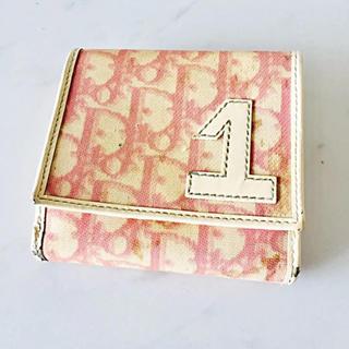 ディオール(Dior)のピンクトロッター折り財布(財布)