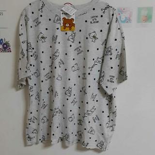 サンエックス(サンエックス)の3L リラックマ Tシャツ 総柄(Tシャツ(半袖/袖なし))