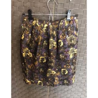 ドレステリア(DRESSTERIOR)のドレステリア 花柄スカート(ひざ丈スカート)