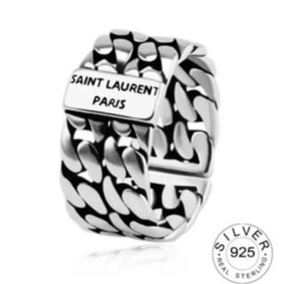 サンローラン(Saint Laurent)のサンローランリング シルバーリング シルバーアクセサリー 925(リング(指輪))