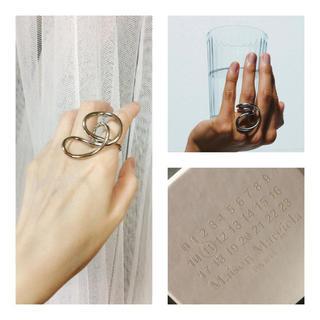 マルタンマルジェラ(Maison Martin Margiela)の 新品 メゾンマルジェラ リング S シルバー マルタンマルジェラ マルジェラ(リング(指輪))