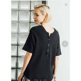 センスオブプレイスバイアーバンリサーチ(SENSE OF PLACE by URBAN RESEARCH)の SENSE OF PLACE 2wayワッフルビッグTシャツ(Tシャツ(半袖/袖なし))