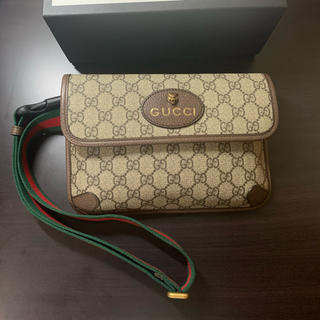 グッチ(Gucci)のGUCCI グッチ GGスプリーム ベルトバッグ ネオ ヴィンテージ(ショルダーバッグ)