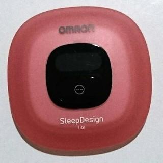 オムロン(OMRON)のOMRON オムロン SleepDesign 睡眠 眠り記録 睡眠管理(その他)