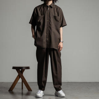 MARKAWEAR - MARKWARE Super120'sWool Tropical Shirt 2