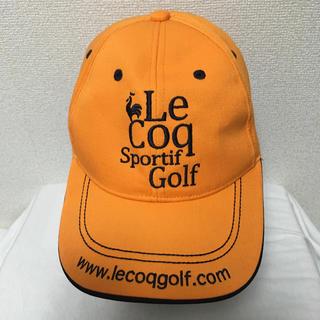 ルコックスポルティフ(le coq sportif)のルコック ゴルフ キャップ(キャップ)