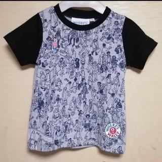 ★ラスト①★【新品】90 ウォーリーをさがせ Tシャツ