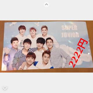 スーパージュニア(SUPER JUNIOR)のスーパージュニア 韓国 ジャンボタオル(K-POP/アジア)