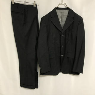 タケオキクチ(TAKEO KIKUCHI)のタケオキクチ スーツ セットアップ ジャケット パンツ メンズ グレー(セットアップ)