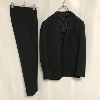スーツカンパニー(THE SUIT COMPANY)のザスーツカンパニー スーツ セットアップ ジャケット 黒 メンズ パンツ(セットアップ)