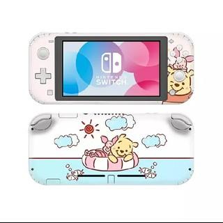 ニンテンドースイッチ(Nintendo Switch)のスイッチ ライト Switch Lite スキンシール くまのプーさん(その他)