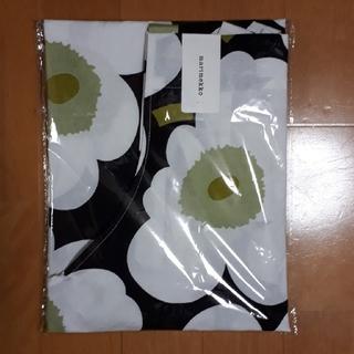 マリメッコ(marimekko)のKAGERI様専用新品marimekkoエプロン ホワイト×ブラックウニッコ柄(その他)