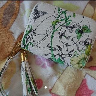 折り財布 花柄(折り財布)