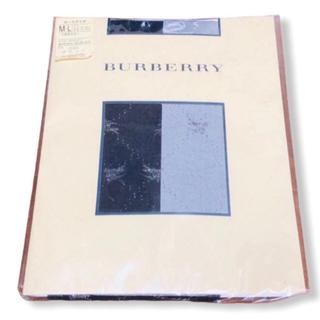 バーバリー(BURBERRY)の【新品】BURBERRY ストッキング バーバリー タイツ 福助 レッグウェア(タイツ/ストッキング)