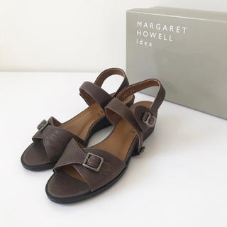 マーガレットハウエル(MARGARET HOWELL)のMargaret Howell idea レザーサンダル(サンダル)