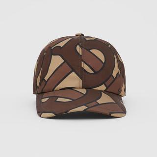 バーバリー(BURBERRY)のBURBERRY Monogram Print Baseball Cap(キャップ)