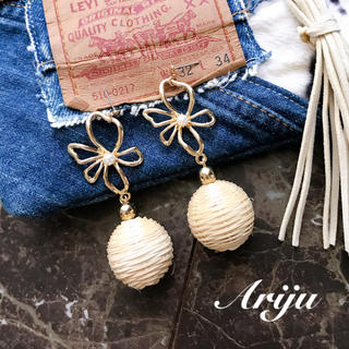 1001 Summer flower pierce/earring(ピアス)
