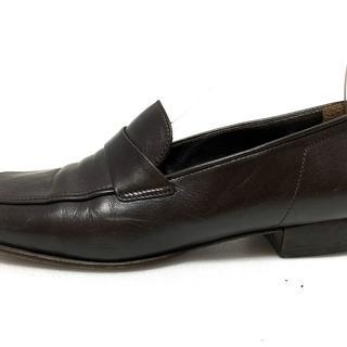 プラダ(PRADA)のプラダ ローファー 36 1/2 レディース -(ローファー/革靴)