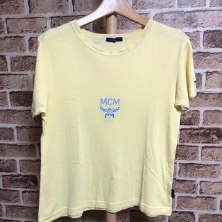 エムシーエム(MCM)のMCM Tシャツ イエロー(Tシャツ(半袖/袖なし))