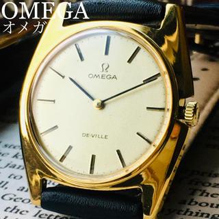 オメガ(OMEGA)の新品仕上げ★OH済み オメガ デビル アンティーク 腕時計 1970年代 メンズ(腕時計(アナログ))
