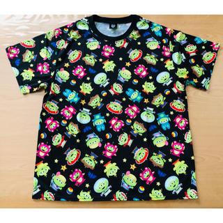 トイストーリー(トイ・ストーリー)のトイストーリー リトルグリーンメン 総柄Tシャツ L(Tシャツ(半袖/袖なし))