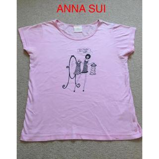 アナスイ(ANNA SUI)の値下げ!ANNA SUI/アナスイ Tシャツ ピンク(Tシャツ(半袖/袖なし))