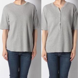 センスオブプレイスバイアーバンリサーチ(SENSE OF PLACE by URBAN RESEARCH)の新品 アーバンリサーチ   ワッフルTシャツ(Tシャツ(半袖/袖なし))